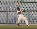 Jay Bista punches through the off side, Mumbai v Tripura, Ranji Trophy 2017-18, Group C, Mumbai, 1st day, November 25, 2017