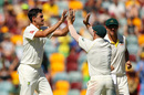 Mitchell Starc troubled England just before tea, Australia v England, 1st Test, Brisbane, 4th day, November 26, 2017