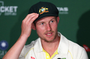 Cameron Bancroft gives his take on being at the receiving end of a  headbutt from Jonny Bairstow, Australia v England, The Ashes 2017-18, 1st Test, 5th day, Brisbane, November 27, 2017