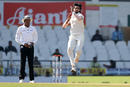 Ishant Sharma shared bowling duties with the spinners in the morning session of the penultimate day, India v Sri Lanka, 2nd Test, Nagpur, 4th day, November 27, 2017