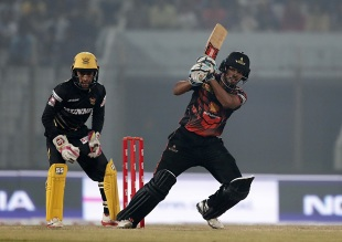 Nazmul Hossain Shanto set an early template for Khulna's belligerence with the bat
