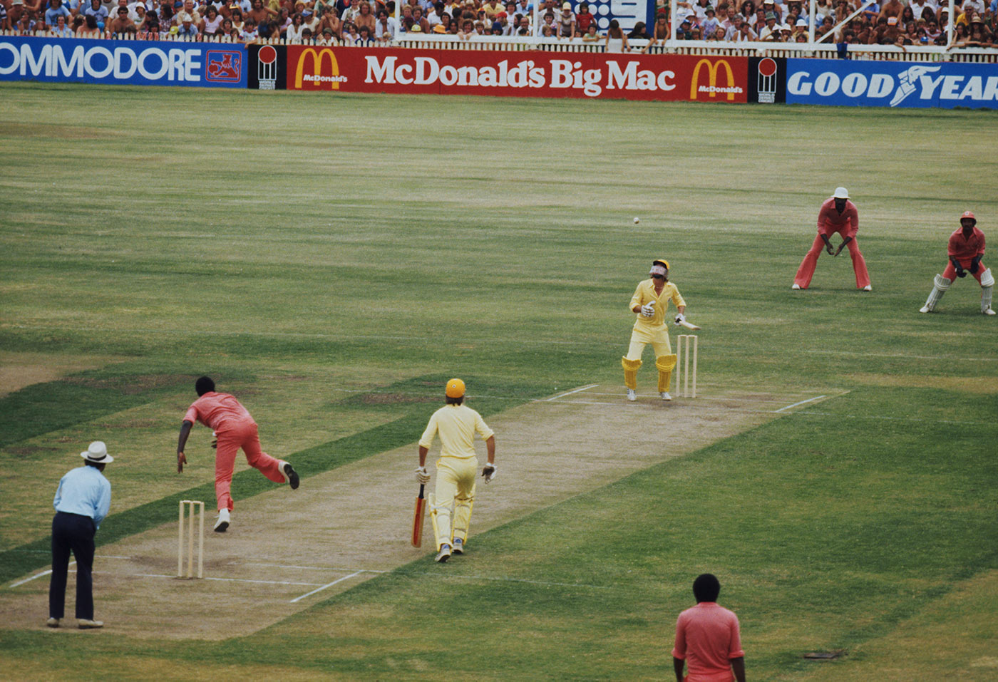 All about the fast bowling: Ian Davis takes on the WSC West Indies in 1979