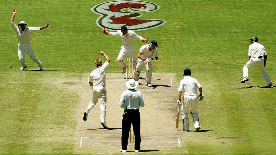 Bowled around the legs? They said it would never happen (well, KP did at any rate)