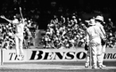Greg Chappell is caught and bowled by Karsan Ghavri for 76, Australia v India, 3rd Test, MCG, February 8, 1981
