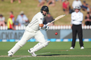 Ross Taylor sets off for a run, New Zealand v West Indies, 1st Test, Wellington, 1st day, December 1, 2017