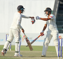 Rohan Mustafa and Chirag Suri shared a 146-run opening stand, UAE v Afghanistan, 2015-17 Intercontinental Cup, 3rd day, Abu Dhabi, December 1, 2017