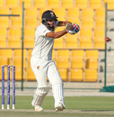 Chirag Suri pulls through midwicket, UAE v Afghanistan, 2015-17 Intercontinental Cup, 3rd day, Abu Dhabi, December 1, 2017