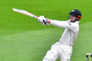 Henry Nicholls plays the pull shot, New Zealand v West Indies, 1st Test, Wellington, 2nd day, December 2, 2017