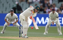 David Warner looks to play one straight, Australia v England, 2nd Test, The Ashes 2017-18, 1st day, Adelaide, December 2, 2017
