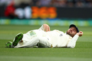Feeling for the field: James Vince looks on after falling over whilst fielding, Australia v England, 2nd Test, The Ashes 2017-18, 1st day, Adelaide, December 2, 2017