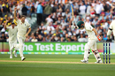 A livid David Warner vents his frustration out upon being dismissed by Chris Woakes, Australia v England, 2nd Test, The Ashes 2017-18, 1st day, Adelaide, December 2, 2017