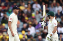 A war of words (and actions) broke out between Steven Smith and Stuart Broad, Australia v England, 2nd Test, The Ashes 2017-18, 1st day, Adelaide, December 2, 2017