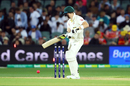 Steven Smith became Craig Overton's maiden Test wicket, Australia v England, 2nd Test, The Ashes 2017-18, 1st day, Adelaide, December 2, 2017