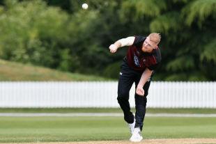 Ben Stokes bowls on his comeback