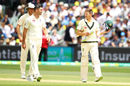 James Anderson and Tim Paine exchange views, Australia v England, 2nd Test, The Ashes 2017-18, 2nd day, Adelaide, December 3, 2017