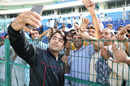 Rashid Khan takes more selfies with Afghanistan fans, UAE v Afghanistan, 2015-17 Intercontinental Cup, 4th day, Abu Dhabi, December 2, 2017