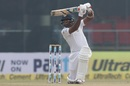 Dilruwan Perera opened Sri Lanka's innings in place of Sadeera Samarawickrama, India v Sri Lanka, 3rd Test, Delhi, 2nd day, December 3, 2017