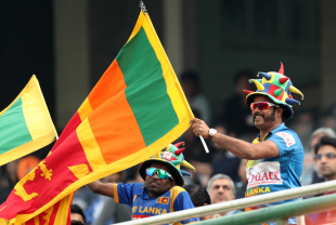 Sri Lankan fans had reasons to cheer