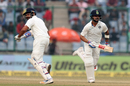 Virat Kohli and Rohit Sharma run between the wickets, India v Sri Lanka, 3rd Test, Delhi, 4th day, December 5, 2017