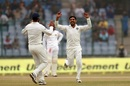 Ravindra Jadeja was among the wickets, India v Sri Lanka, 3rd Test, Delhi, 4th day, December 5, 2017