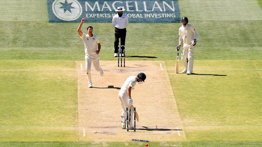 THE ASHES: Australia rip through England to win second Test