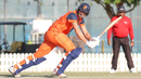 Ben Cooper flicks through fine leg, Namibia v Netherlands, 2015-17 WCL Championship, Dubai, December 6, 2017