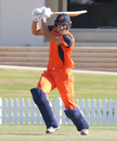 Ben Cooper drives down the ground past mid-off for another boundary , Namibia v Netherlands, 2015-17 WCL Championship, Dubai, December 6, 2017