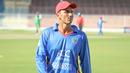 Mujeeb Zadran wanders back to fine leg in between overs of his opening spell, Afghanistan v Ireland, 2nd ODI, Sharjah, December 7, 2017