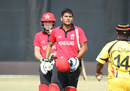 Anshuman Rath walks off unbeaten on 143 off 137 balls for his maiden ODI century, Hong Kong v Papua New Guinea, 2nd ODI, 2015-17 WCL Championship, Dubai, December 8, 2017