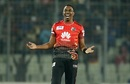 Dwayne Bravo got the better of his Caribbean counterpart Kieron Pollard, Dhaka Dynamites v Comilla Victorians, BPL 2017, Qualifier 1, Mirpur, December 8, 2017