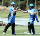 Sophie Devine and Bridget Patterson strung a fifty partnership, Hobart Hurricanes v Adelaide Strikes, WBBL 2017-18, Adelaide, December 9, 2017
