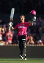 Ashleigh Gardner surpassed Sophie Devine and Grace Harris in scoring the quickest hundred - off 47 balls - in WBBL history, Melbourne Stars v Sydney Sixers, WBBL 2017-18, Sydney, December 9, 2017