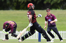 Ben Stokes was found short of his crease in Canterbury's chase, Canterbury v Northern Districts, Ford Trophy 2017-18, Christchurch, December 10, 2017