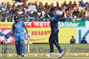 Suranga Lakmal sent back captain Rohit Sharma for two runs, India v Sri Lanka, 1st ODI, Dharamsala, December 10, 2017