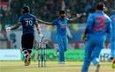 Jasprit Bumrah had Danushka Gunathilaka caught behind, India v Sri Lanka, 1st ODI, Dharamsala, December 10, 2017