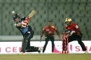Brendon McCullum swats the ball to the leg side, Comilla Victorians v Rangpur Riders, BPL qualifier 2, Dhaka, December 11, 2017