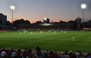 Sunset over the North Sydney Oval, Australia v England, Women's Ashes, only Test, day one, November 9, 2017