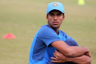 Washington Sundar warms up ahead of his ODI debut
