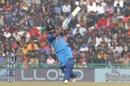 Rohit Sharma swings down the ground, India v Sri Lanka, 2nd ODI, Mohali, December 13, 2017