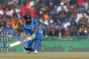 Rohit Sharma gets into position for a lap-sweep, India v Sri Lanka, 2nd ODI, Mohali, December 13, 2017