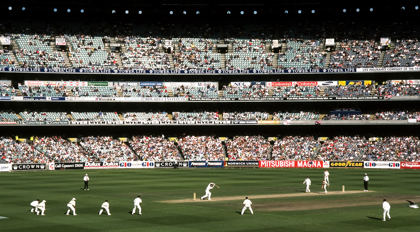 The longest day: play on the fourth day at the MCG lasted eight hours and three minutes after the umpires decided to take the extra half-hour to force a result