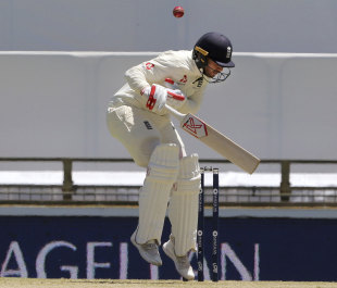 Mark Stoneman was thoroughly tested by the short ball