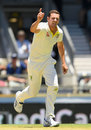 Josh Hazlewood had James Vince caught on the drive before lunch, Australia v England,  3rd Test, Perth, 1st day, December 14, 2017