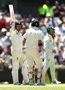 Mark Stoneman brought up his half century, Australia v England,  3rd Test, Perth, 1st day, December 14, 2017