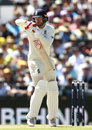 Mark Stoneman was given out via the DRS after fending at a rapid bouncer, Australia v England,  3rd Test, Perth, 1st day, December 14, 2017