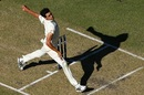 Mitchell Starc in full tilt, Australia v England,  3rd Test, Perth, 1st day, December 14, 2017
