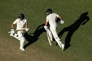 Dawid Malan and Jonny Bairstow added the highest partnership of this Ashes series for England, Australia v England,  3rd Test, Perth, 1st day, December 14, 2017