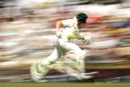 Steven Smith is a blur as he runs between the wickets, Australia v England, 3rd Test, Perth, 2nd day, December 15, 2017