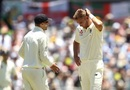 Joe Root and Stuart Broad were in a spot of bother before lunch, Australia v England, 3rd Test, Perth, 3rd day, December 16, 2017