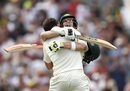 Steven Smith and Mitchell Marsh had plenty to celebrate on the third day, Australia v England, 3rd Test, Perth, 3rd day, December 16, 2017